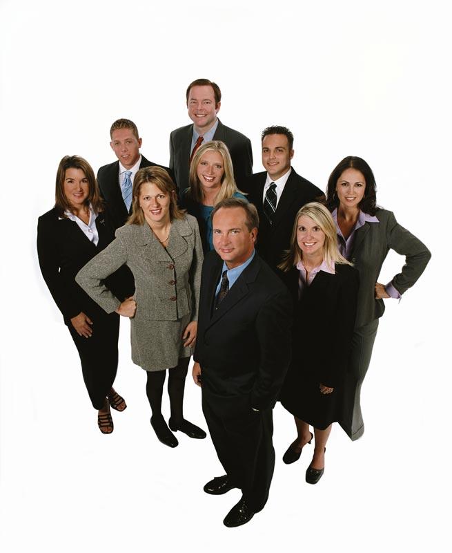 Houston executive group team portrait photographer