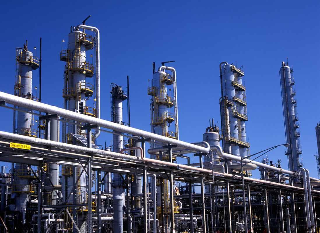 Oil refinery industrial photographer Houston Texas