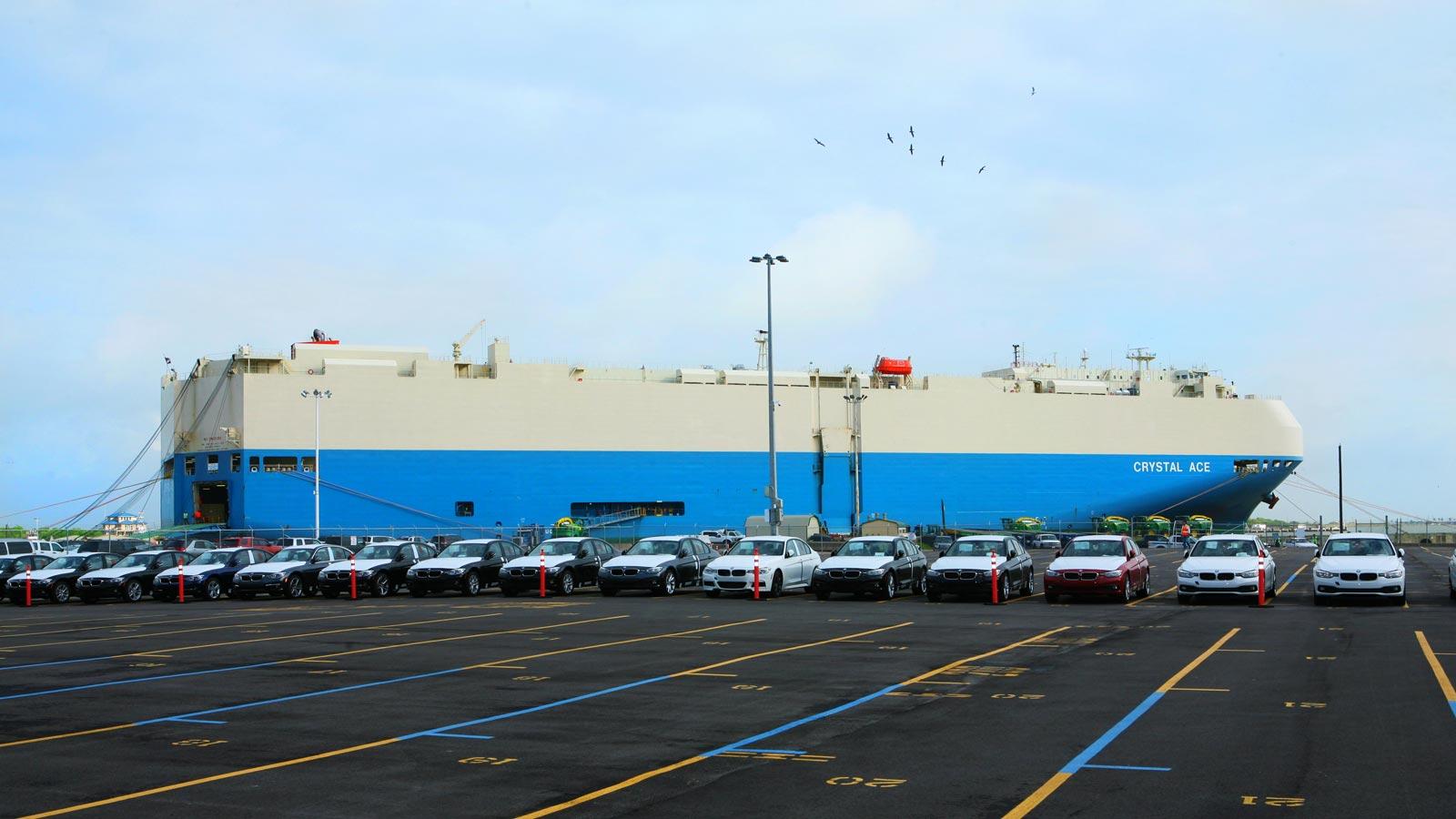 Industrial shipping photographer Houston Texas