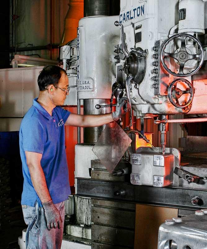 machining Industrial photographer Houston