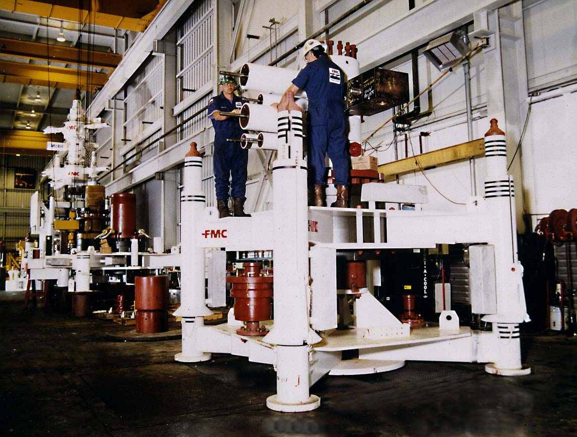 oilfield manufacturing Industrial photographer Houston