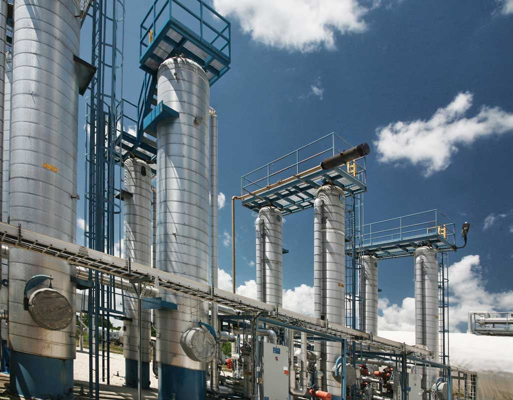 Oil and gas refinery industrial photographer houston